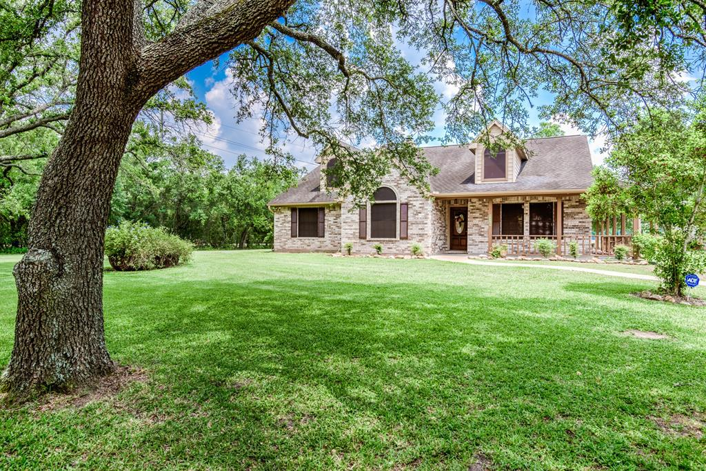 Dreaming of living the country life...This home is perfect for you! Upon entering this beautiful custom home on 9.38 acres you will see it offers an open floor plan with lots of windows for natural light and a view of your gorgeous backyard. The large kitchen overlooks the family room and dining area, with a walk-in pantry in the kitchen. Right off the kitchen is a room that could be used as an office or 4th bedroom.   The master bedroom/bath has a spa feel with a beautiful custom window over the jetted tub. A walk in closet offers built in storage. Two additional bedrooms are just as inviting as the master. The large utility room hosts more storage opportunity with a huge closet that also has access to the front entry. The main theme in this home is storage! Even the garage has tons of built in storage and a full bathroom. The 6,000 SF shop could be anything from a workshop to an event center! There is also a one bedroom apt that is currently a rental unit.