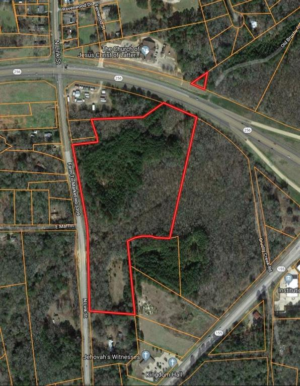 Great East TX RESIDENTIAL or Commercial acreage for sale! The undeveloped acreage is located inside the city limits on the main loop around the city of Palestine, with quick access to everything the city has to offer. The bulk of this listing - Tract 11 - is approximately 20 AC and is on the S side (inside) of Loop 256 w road frontage on Loop 256 and N. Link St. but does not include the corner. The smallest portion of this listing - Tract 11C - is on the N side (outside) of Loop 256. See the Anderson county plat for location of both tracts. The smaller portion of Tract 11 that fronts S side of Loop 256 is zoned commercial-Buyer could also petition the city of Palestine for rezoning; THE REST IS ZONED RESIDENTIAL.See associated docs for locations of water sewer lines. Would be great for a subdivision, senior/over 65 community or multi-family development. Great location with tremendous possibilities at a reasonable price!