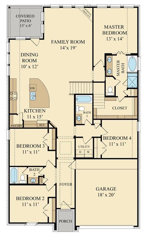 23818 McNabb Spur Lane, Richmond, Texas 77469, 4 Bedrooms Bedrooms, 8 Rooms Rooms,3 BathroomsBathrooms,Single-family,For Sale,McNabb Spur,62724309