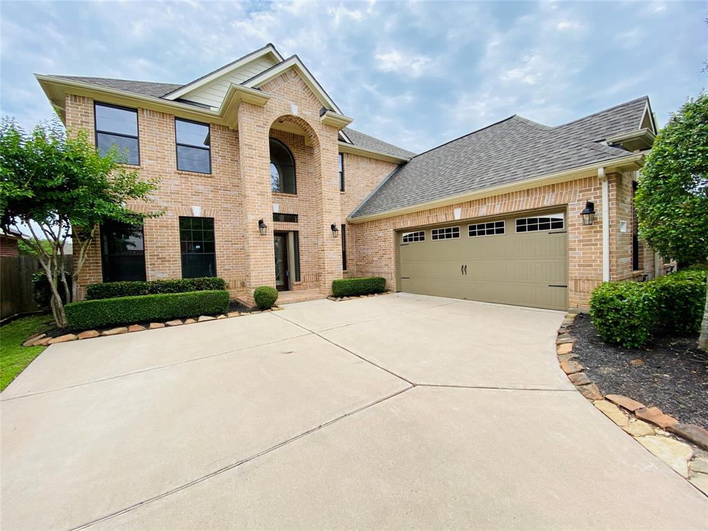 """Welcome to this Gorgeous, Single owner, Well maintained and Impeccable home in the most coveted Sugar Land neighborhoods """"Telfair""""! This 2-story gem features, high ceiling foyer, featuring a custom contemporary chandelier, a grand high ceiling family room, a double sided upgraded fireplace with beautiful custom Travertine back splash, a mother-in-law bedroom downstairs, a huge kitchen and breakfast area connected to the family den and the beautiful hand scraped and distressed extra wide wood flooring throughout, entry, dining, family, bedroom and study areas. The master bath has a luxurious multi jet body sprayers for that relaxing and massaging shower! Backyard features well appointed patio area with Travertine flooring for those evening gathering with friends and family. TONS of upgrades, Minutes away from HW6, HW9 and US 59.   Zoned to exemplary schools!! NEVER FLOODED!  don't miss out on the opportunity to see this beautiful and well priced home! CHECK OUT THE VIRTUAL TOUR LINK!"""