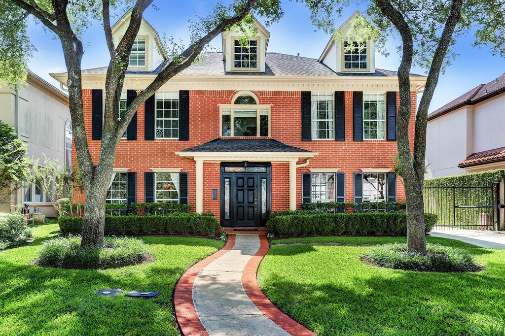 Enjoy the Bellaire lifestyle & award-winning schools in almost 4800 ft.² that's close to everything.  The home was built in 1990, purchased by the current owner in 1993 and expanded approximately 2000 ft.² in 2004.  Located on a north-south lane on 6990sf lot, offering unique plan with two en-suite bedrooms, four total bedrooms, two studies, huge Gameroom, oversized garage, full bath for pool, outdoor grilling station, and located steps from the Mulberry pocket park.  Unique island kitchen, wine cooler, marble flooring in family room and formals, and a terrific functional use of space including expanded landing for additional storage and knee spaces.  See gallery for detailed remarks.