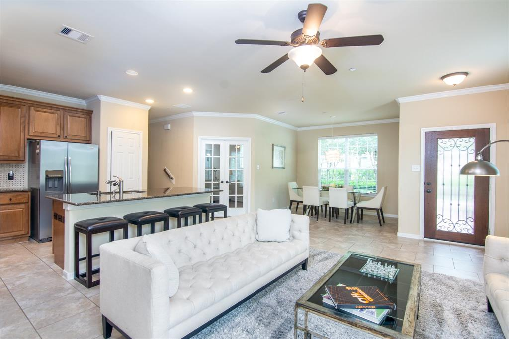 **FULLY FURNISHED( see exclusions) ***(NO SHORT TERM- 12 MO MIN)***CONROE ISD EXEMPLARY SCHOOLS **ALL BEDROOMS UP ***4 BEDROOMS ***3.5 BATHS** STUDY WITH FRENCH DOORS *** Enjoy the easy living! Fabulous 4-bedroom townhome, beautiful front porch, corner lot, and backyard, high ceilings, granite countertops, study with French doors, kitchen and dining combo, stainless steel appliances, granite countertops, living room, dining room. Walking distance to Deretchin Elementary K-6, Two car garage.
