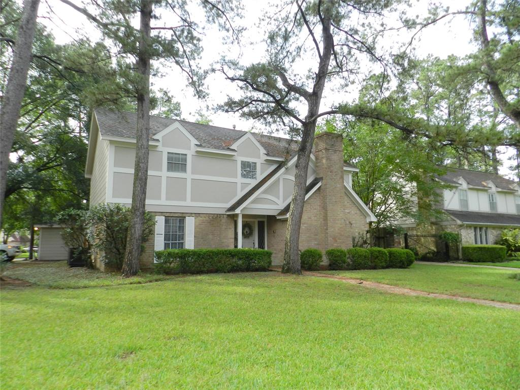 GREAT HOME IN CHAMPIONS ON A CORNER LOT. FRESH PAINT, CARPET , FLOORS AND COOK TOP. READY TO MOVE IN. KISD.  EASY ACCESS TO 249 AND FM 1960 .