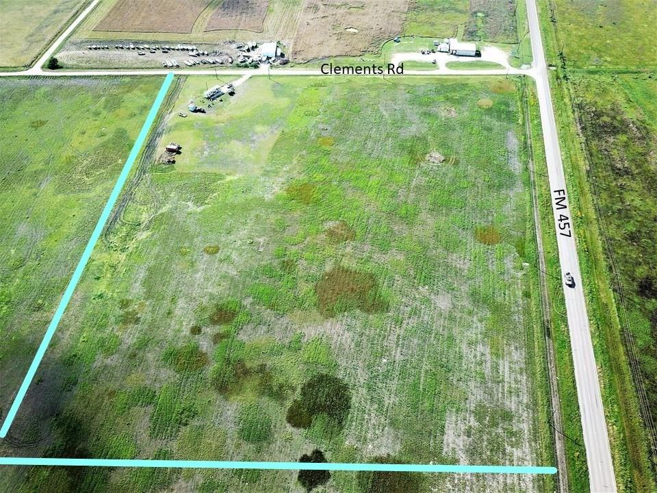 This UNRESTRICTED acreage has great COMMERCIAL potential! Offering 1800' of FM 457 HWY frontage in a growing coastal community! The property is 1800' of frontage, 757' deep on Clements Road equipped with a well and electricity!!! THE POSSIBILITES are endless! This is a high traffic area that is visible to almost  all coming to Sargent!