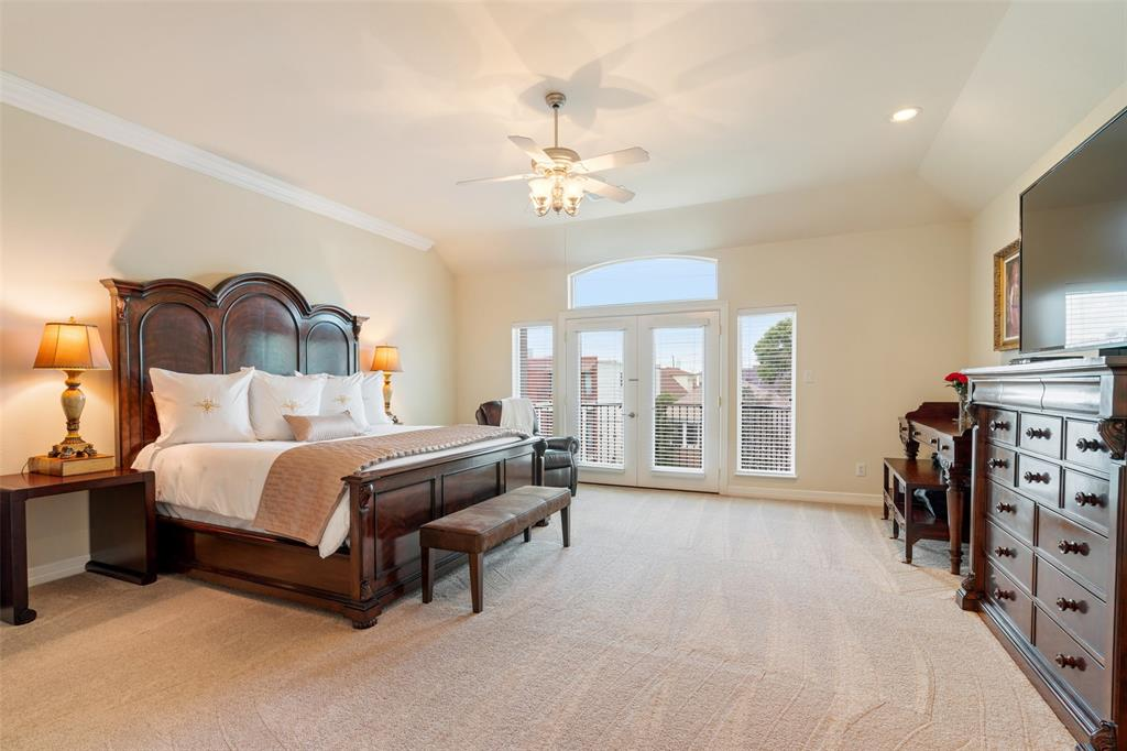 The private master suite is the perfect space to start and end your day.
