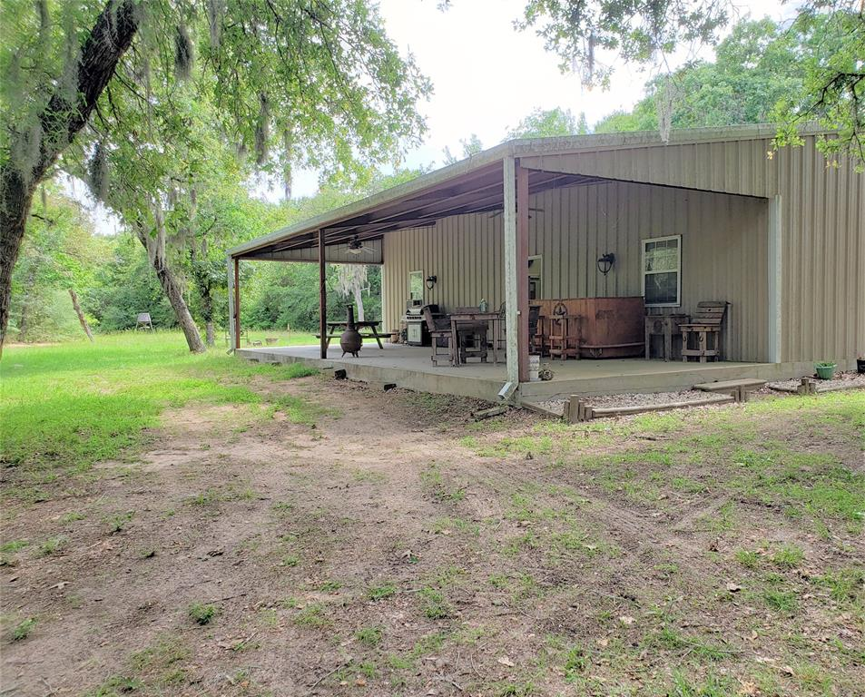 Are you looking for the perfect weekend small acreage property?  Well, you have found it.  This property consists of a barndominium, with  one bedroom-10x12, one bath- 4x6 and a kitchen.  The barn inside is 1500 square feet and can be finished out if you like and add more rooms.  The 14.06 acres is located in Oak Ridge Ranch gated community just outside of Weimar.  Easy access to I10 East or West.  The land has been selectively cleared to have access from CR 215,  cleared around the barndominium, and another clearing in the middle to build you forever home.  This one will sell fast!!