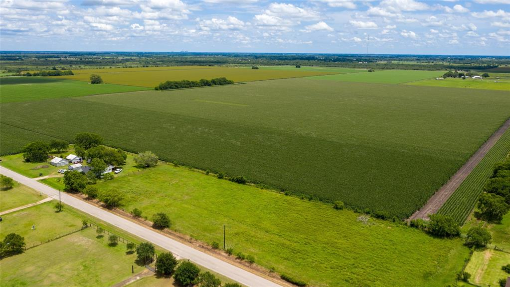 158+/- Acres of prime property located in Fort Bend County and zoned to Needville School District.  This property has frontage on Blase Rd (+/-1766 ft of frontage per survey) and Modena School Rd. (+/-865 ft of frontage per CAD) and is currently in Agricultural exemption status. There is a 2 bed/1 bath house on the property along with several outbuildings, scattered trees, aerobic septic and water well.  If you are looking for a great investment, consider this income producing parcel of land.  Easy and quick access to Highway 59.