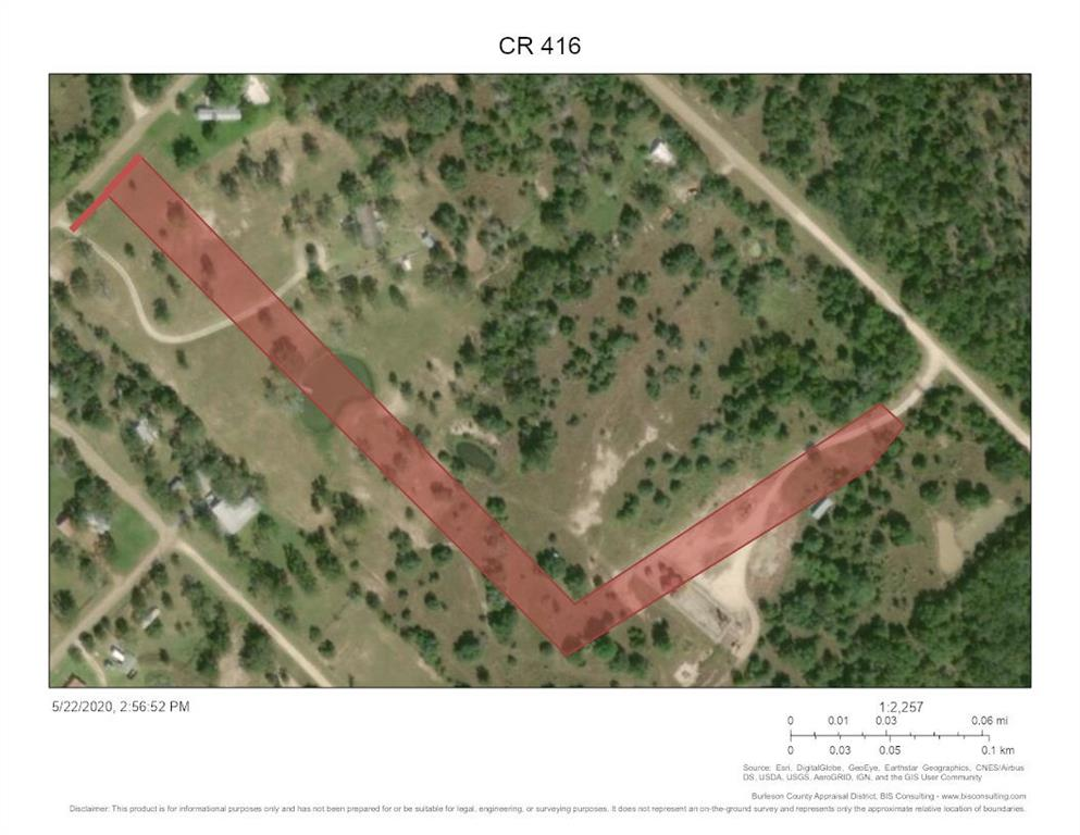 Almost 3 acres of unrestricted land close to Lake Somerville and off Park Road 4. Large pond and scattered trees. No flood plain according to FEMA.