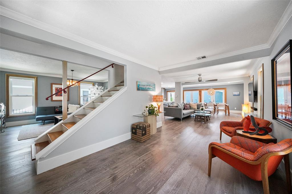 As you enter the home you are welcomed by open plan living, and a beautiful remodel. The design and layout is the perfect combination of classic character, combined with modern living.