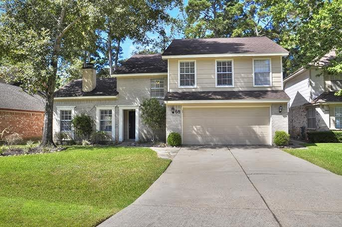 Immaculate updated family home in the heart of The Woodlands. Totally remodeled kitchen with mahogany stained cabinets, granite, and stainless appliances. No carpet, just wood, vinyl plank, and tile throughout. Spacious family room w/ fireplace, formal dining or study, game room and huge patio for entertaining. Private fenced backyard with playset. Washer, dryer, and stainless refrigerator stay if needed. Minutes from Market Street, The Woodlands Mall, and easy access to I-45. Excellent Woodlands schools