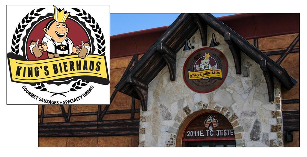 Neighborhood hangout, King's Bierhaus is a short walk away.