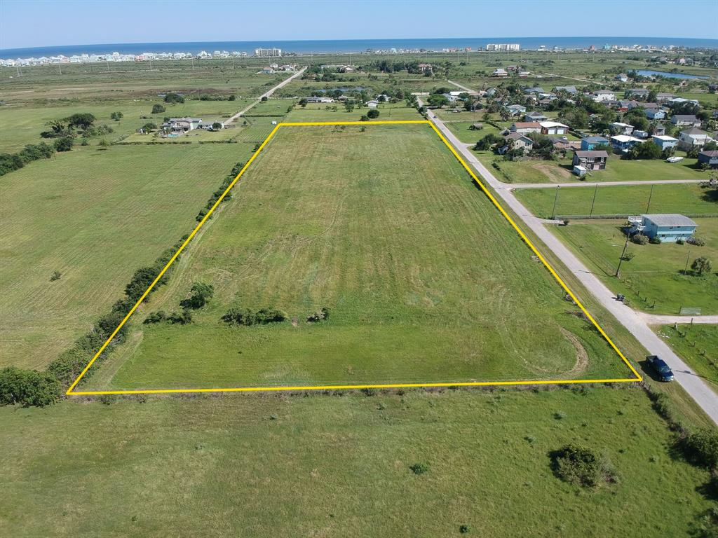 Enjoy the bucolic setting of this unique 6.9 Acre countryside property on Galveston's West End.  Quiet and tucked away open space, but not far from in-town amenities.  Perfect for your dream home with a barn and horses, or for pasture land for horses, cattle or other livestock.  Could also be divided up to build several homes on.  Please note that this property is currently under an Agricultural Exemption for property taxes.  Buyer responsible for purchasing survey.