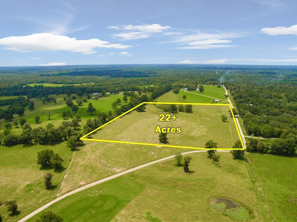 High and Dry!! 22+/- acres of rolling terrain! Easy access to Hwy 59! Land is fenced, cleared, and ready for cattle! Property is surrounded by all larger tracts of land. Come build your dream home! AG EXEMPT.