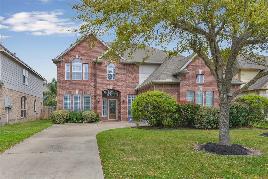 New listing priced to move. EASY TO SEE! Opportunity to join coveted Brazos Town Center on larger lot perfectly positioned with walkability to shops, restaurants & local beloved amenities. Traditional red brick w/ hardwoods, well designed spacious floor plan offered w/ a balance of beauty w/refined details. This Westin Collection home boasts an open floor a plan, master bedroom down accommodating a multigenerational living option; rare 4 full baths, both pool table sized game room & separate themed media room up; ready for your entertaining needs. Clean family home:soaring ceilings, wrought-iron spindles, tile floors, granite countertops, butler pantry & enormous walk-in pantry included w/ wall of windows overlooking backyard. Enjoy a private master retreat w/large walk-in closet, ensuite bath, dual sinks & seamless glass shower w/soaking tub. Come join this friendly neighborhood which includes great performance index schools at an amazing price. No history of flooding-per seller.