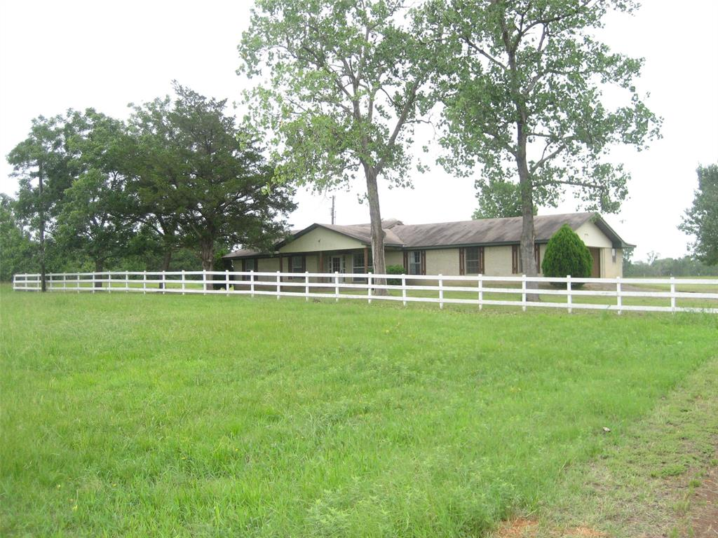 SPACIOUS THREE BEDROOM THREE BATH BRICK HOME ON 23 PLUS OR MINUS ACRES. OLDER HOME IN SOLID SHAPE NEEDING A LITTLE MINOR TLC. IDEAL COUNTRY HOME WITH IMPROVED PASTURE, SMALL BRANCH (SIMS BRANCH) RUNNING THROUGH WESTERN PASTURE FOR LIVESTOCK. HOME OFFERS THREE BEDROOMS TWO BATH, WITH A LARGE ROOM FOR EXTRA BEDROOM, GAME ROOM, MEDIA ROOM OR OFFICE. FORMAL DINING AND LIVING, OPEN KITCHEN, WITH BREAKFAST AREA ALL OPEN TO FAMILY ROOM. LARGE MASTER BEDROOM. TWO CAR GARAGE WITH UTILITY ROOM AND THIRD BATHROOM WITH SHOWER. LARGE YARD, WITH SMALL POND, FRUIT TREES. PRIVATE WELL WITH PUBLIC WATER ACCESS. PROPERTY LOCATED IN MUCH SOUGHT OUT LATEXO SCHOOL DISTRICT.