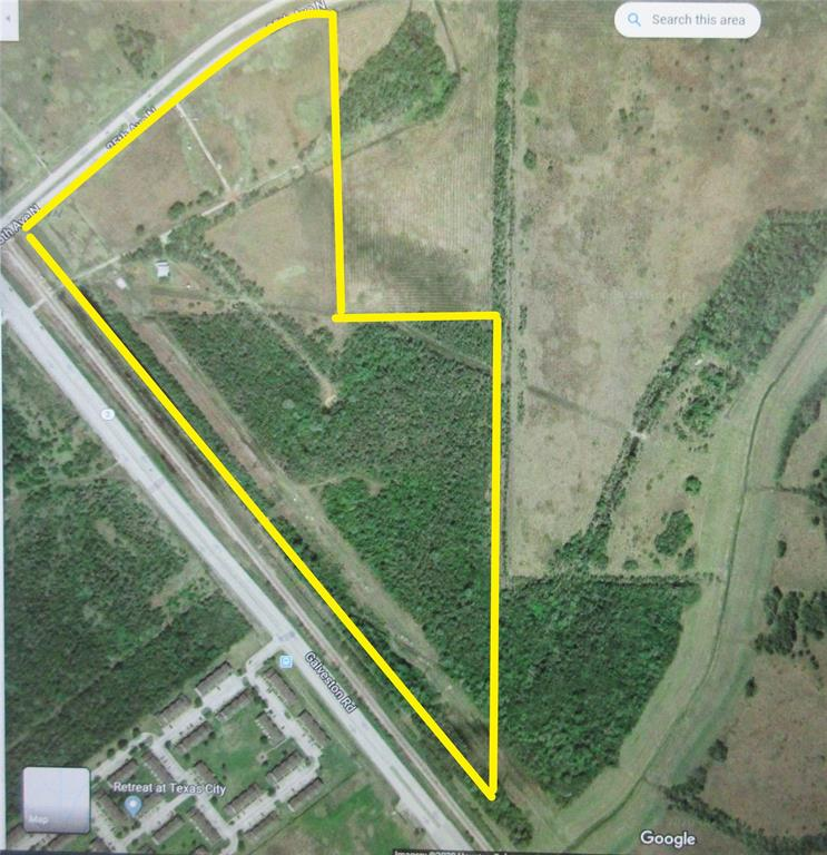 This 58.212 Acres in Texas City is perfect for development. There is over 1000 ft of Frontage on 25th Ave N