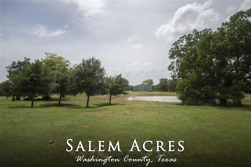 Priced to SELL!!  45.27 acres to be surveyed out of property ID #R18802 - Washington County Appraisal District. This package comes complete with existing ag exemption, improved pastures, fenced and cross-fenced, a pond and all-metal hay barn. Great potential home sites with gentle rolling terrain and clusters of native trees, all surrounded by fantastic views!   Enjoy country living,  just a few minutes from town!  Light restrictions will apply.