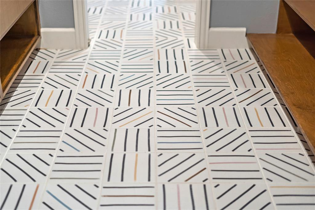 This tile is just right.