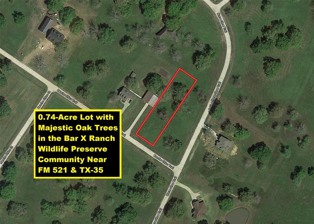 406 Rancho Chico Trail, Angleton, Texas 77515, ,Lots,For Sale,Rancho Chico,90744468