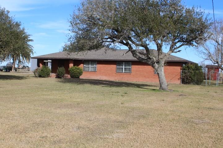 """Ranch with residence and ranch headquarters on the Texas Coastal Prairie!  The property is situated about 3 miles southeast of the town of Collegeport in the southwestern portion of Matagorda County.   The property is fenced for livestock and improved with a cattle shed and stock pens.  The farm headquarters also is improved with a Quonset barn (4,128 sf) and waterfowl habitat duck & goose roost ponds.  Irrigation water is available from an LCRA canal that """"L's"""" through the property.  The property is referenced by the Matagorda County Appraisal District by the following property identification numbers:  22507, 17307, 17308, 22510, 22508 (part), and 22527 (part).  A new survey is currently in progress."""