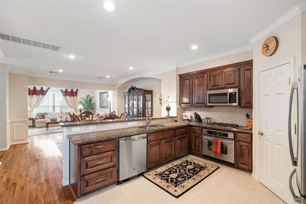 The family chef will love the spacious kitchen and open floor plan.