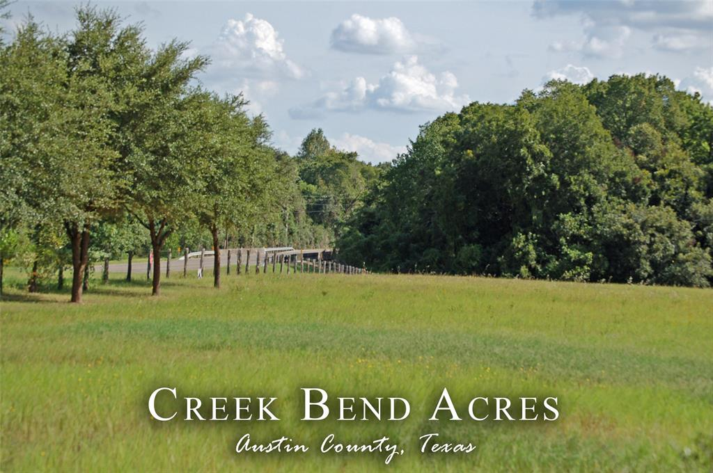 Conveniently located just minutes from the square in Bellville on FM 1456, this +/- 6.296 acres tract is a beautiful property to build your home.  Framed on the back and side with a deep border of trees culminating in Piney Creek makes this pasture rise to the major building site.  Board fencing along the paved county road with improved grass lends itself to horses or club projects.  Light restrictions within the deed will maintain the integrity of the location.  Electric access is nearby along the road.  Ready for construction of a new owners home.