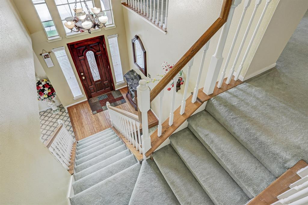 Stairs from entry