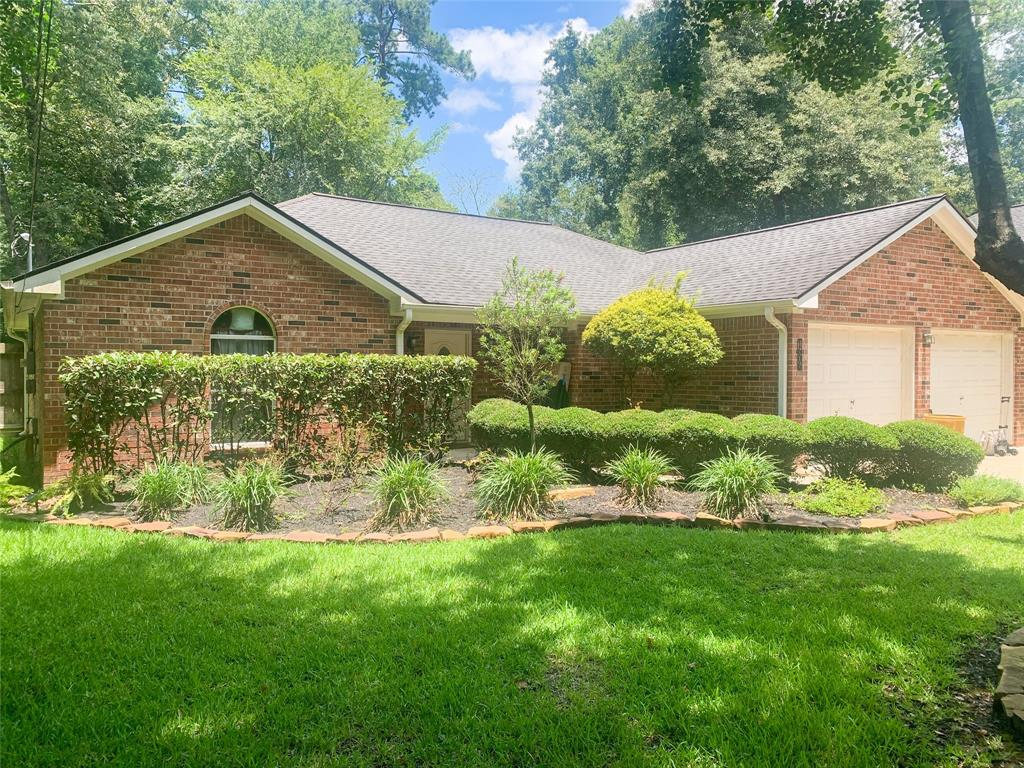 Come check out this one story home located in Chateau Woods. NO HOA!! Low Taxes!! Home needs some work but has lots of potential for anyone looking into adding their own personal touches. Granite countertops. Tile flooring throughout kitchen area. Large outdoor backyard with a large covered patio. Come check it out!!