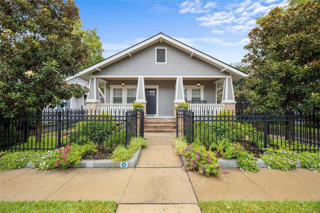 Beautifully updated Montrose area bungalow located on a quiet street that's just a short walk away from lots of restaurants, shopping and entertainment.