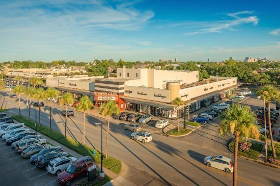 Enjoy some of the best shopping in Houston at the River Oaks Shopping Center.