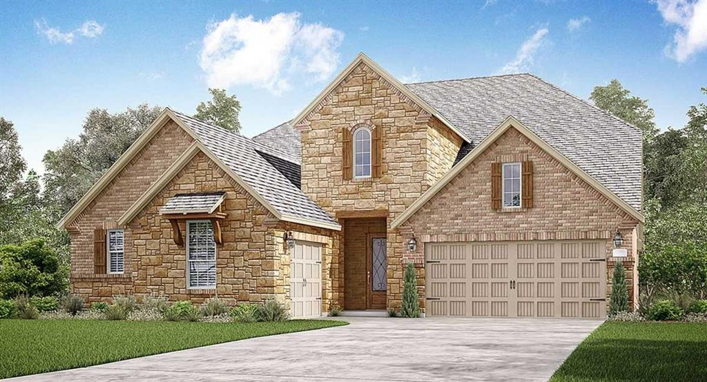 """NEW! Vista Collection ''Acadia'' Next Gen Plan by Lennar Homes, Brick/Stone Elevation B, in Jordan Ranch! Dual Living w/ Separate & Private Front Entry, Living Room, Bedroom, Full Bath & Kitchenette! Amazing ''Everything's Included'' 2 story with 5 Beds/4.5 Baths/3 Car Garage + Formal Dining & Game Rooms! Lovely Island Kitchen w/ Granite Countertops, 42'' Raised Panel Cabinets w/ Crown Moulding, Under-Cabinet Lighting & a Great Appliance Pkg! Master Suite w/ Separate Tub & Shower, Dual Sinks, and, Huge Walk-In Closet! ! Extensive 6"""" x24"""" Beautifully Patterned Tile Floors. 2'' Faux Wood Blinds! Covered Patio & Gas Stub! Energy Efficient 16 SEER HVAC System & MORE! This home is a Wi-Fi CERTIFIED smart home featuring integrated automation and voice control with Amazon Alexa."""