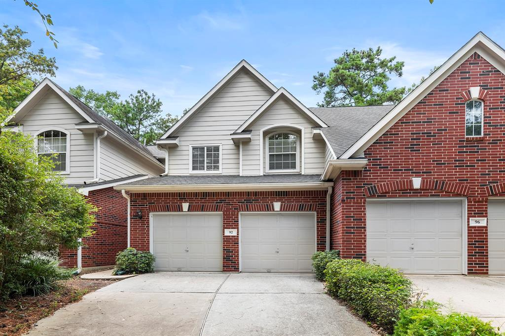 Wonderful brick three bedroom townhome in the Piper Trace community. Large living room with fireplace and laminate floors. Dining area, breakfast area, kitchen and half bath downstairs. Master bedroom, two secondary bedrooms and two baths up. Laurdry room up and Washer, Dryer and Refrigerator to remain with the property. Two car attached garage. HOA Covers front Lawn Care. New carpet, new tile in bathrooms and kitchen cabinets. Vacant and ready for immediate move in!!