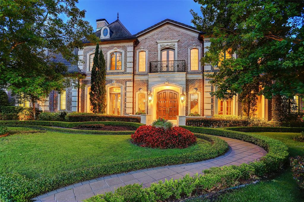 "French Chateau-style home nestled in the exclusive gated estates of the Royal Oaks C.C. Experience the true essence of a tranquil setting in this half-acre lot with breath-taking scenic views of a lake & Fred Couple Signature Golf Course. Stunning entrance, you can begin to witness the French-inspired features with the grand 26' ceiling entrance highlighting beautiful travertine/marble floors, double grant front doors with transom windows leading into an artistic staircase with wrought iron railing. Gourmet-style kitchen boasts Thermador appl, 2 d-w, 6-burner + 3-gas ovens, butler's pantry & 2-wine chillers. The property also includes 2 master bedrooms, elevator, 2 staircases, 2 garages with room for 4 vehicles, and a paramount theater room with a 120"" screen, Sony 4K 3D projector, 8-channel Dolby Atmos surround sound, Lutron lighting & w/Creston audio. On the exterior of the home, you will find a gorgeous French garden with Pergola, 60' lap pool, an outdoor fireplace & pavilion."