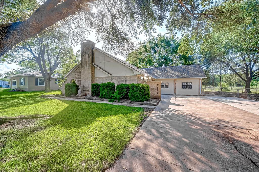Charming 3 bedroom 2 bath house on 1 acre in Needville!  The garage was converted into a bonus room with A/C.  This property has a 24x30 shop with concrete floors, covered patio, fenced backyard, and beautiful mature oak trees. Easy access to downtown Needville and to Hwy 59!