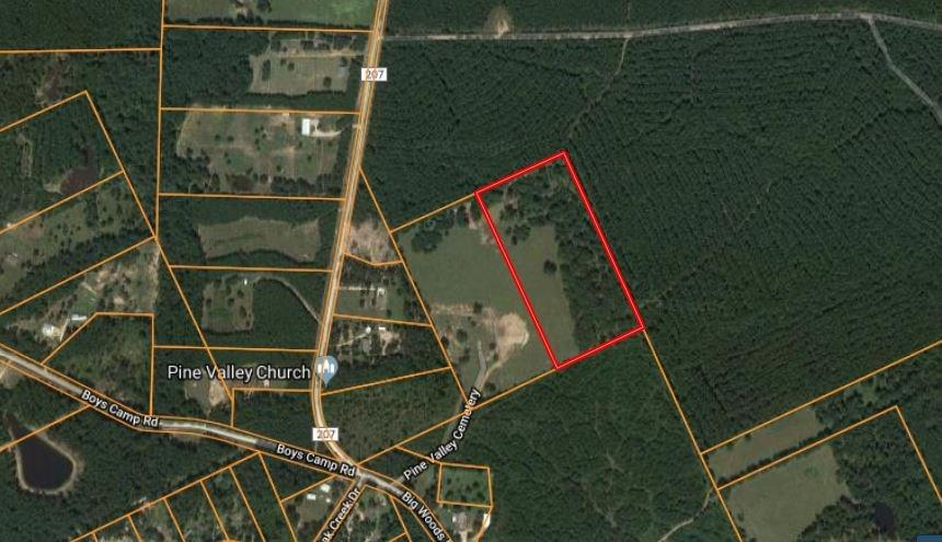 This 12-acre parcel is located minutes from the Big Wood Recreation area of the Sam Houston National Forest.  Very private and secluded this plat is located off Big Wood Road and Pine Valley Cemetery.  The land is partial clear with a boundary of East Texas Natural Forest.  The parcel features a pond on the Northwest corner.  Great place for recreation or to build that dream home.