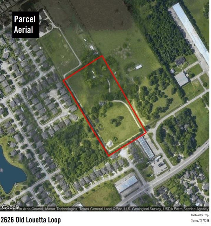 9.867 acres of unrestricted, cleared, open land. There is a pond and a small house on the property as well as a paved road into property.  Variety of possible uses: RV Park, Mobile home park, mini-storage, church property, event center, single family development, industrial facility, etc.    Prime access to Hwy 45.