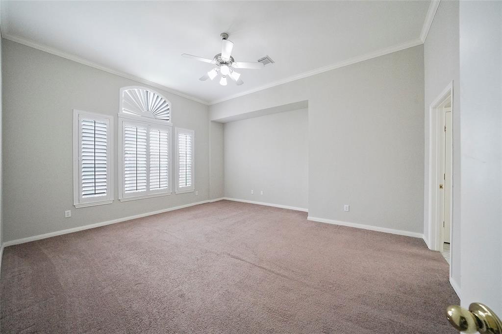 View from main bedroom door.