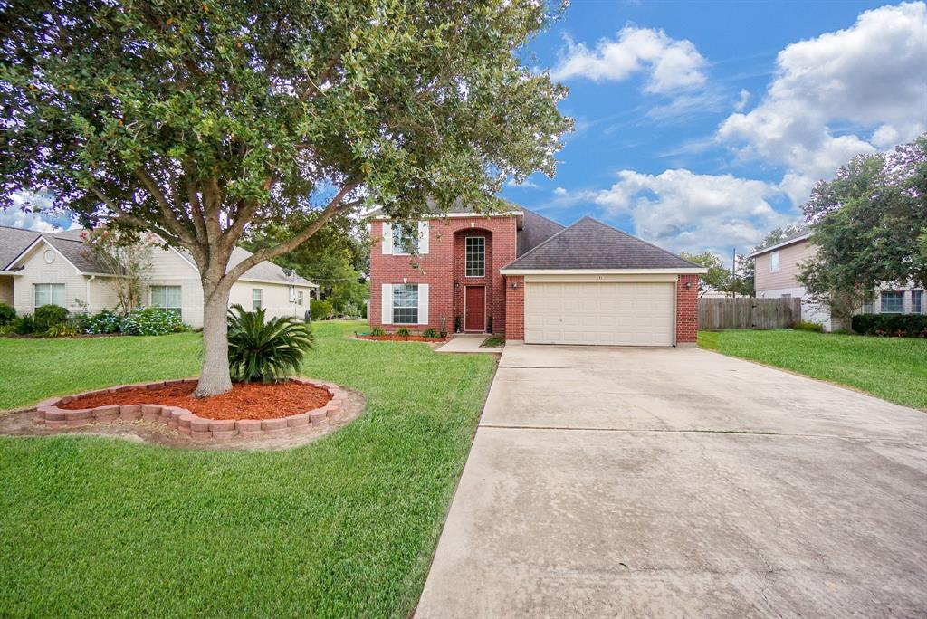 WELCOME to 831 Tropicana Blvd. This stunning, well kept, custom built two story home in the highly sought after East Bernard school district is sure to please!  Features include 5 generous sized bedrooms, 2 full bathrooms and a half bath! Master suite is downstairs, with other bedrooms upstairs. This home is very inviting! Check out the large sitting room or study for your home office or work out room! Enjoy the gourmet kitchen, perfect for baking and cooking, just in time for the holidays! Tons of space! Relax after a long day on the covered patio! Check out the giant back yard,  plenty of room for a sparkling pool and outdoor fun and entertaining! Don't miss this gem, and schedule your showing today!!!!