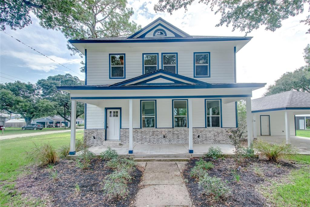 Don't miss this beautiful, completely renovated farmhouse originally built in 1935. It sits on a 0.40 Acre corner lot, 2,432 SQFT, 4 Beds, 2 Full Bath & 1 Half Bath. Has never flooded.  Click on virtual tour link for your tour!