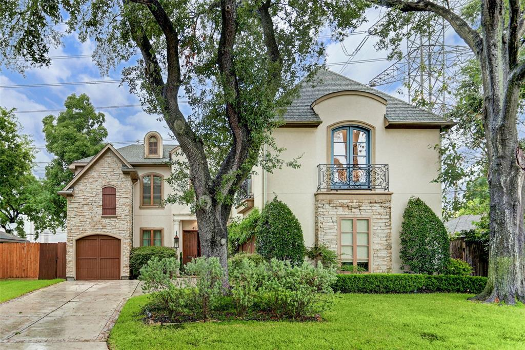 Gorgeous custom home in Bellaire on a 9240 sf lot. on a cul-da-sac street.  Beautiful open floor plan with a grand entrance, beautiful sweeping iron staircase, soaring ceilings, picture windows overlooking the covered patio, outdoor kitchen and backyard. Fabulous oversized chef's dream kitchen with 2 islands, built-in refrigerator and microwave, farm sink, vegetable sink,  2 dishwashers, 2 ovens, Viking range, separate ice maker, wine fridge and a kegorater in the butler's pantry.  Full size laundry room downstairs + add. laundry room upstairs.  Mudroom, 5 bedrooms all w/ generous closets, 2nd fl game room + media room/bonus room/office/exercise room. Add. features include mosquito & sprinkler systems, front & back cameras, outdoor fire pit  & wireless thermostat. Beautiful front elevation with ample & easy parking + 3 car garage.  Never flooded!  Centrally located near Galleria, Downtown & Medical Center.  Everything you will ever need in a home...Call to schedule a private showing.