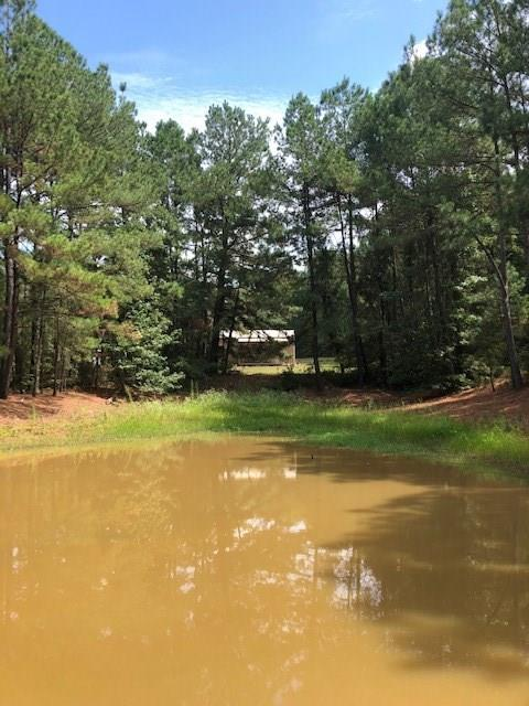 Fall is in the air and we have just the place for you- deer stands and deer feeders are in place!  Here is a heavily wooded 20 acre +/- tract located off the beaten path with a pond; small cabin; RV hook up and a 10x16 shop with overhang. There is electricity, community water and a conventional septic system for the cabin and RV hook up. A small Kubota tractor with low hours and attachments is included, plus a riding mower, push mowers, wood chipper, push string trimmer- everything you need for outdoor maintenance.