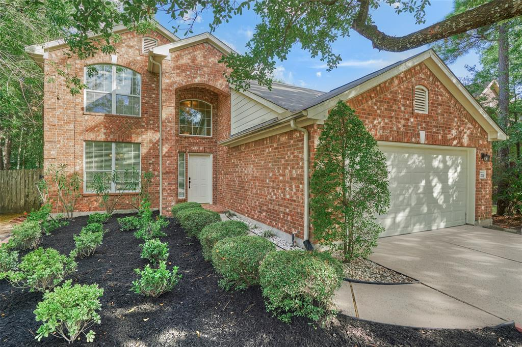 Don't miss this beautiful home perfectly located in Harper's Landing section of The Woodlands. Minutes from I45, The Woodlands Town Center, 4 hospitals, Costco and HEB. School aged children attend sought after schools within Conroe ISD. Just updated with new flooring through-out, new toilets, recent paint and fresh landscaping. The floorplan is well thought out with the primary bedroom downstairs, a large game room, storage closet and secondary bedrooms up. The refrigerator, washer and dryer will convey with the property. This home is clean and ready for occupancy!