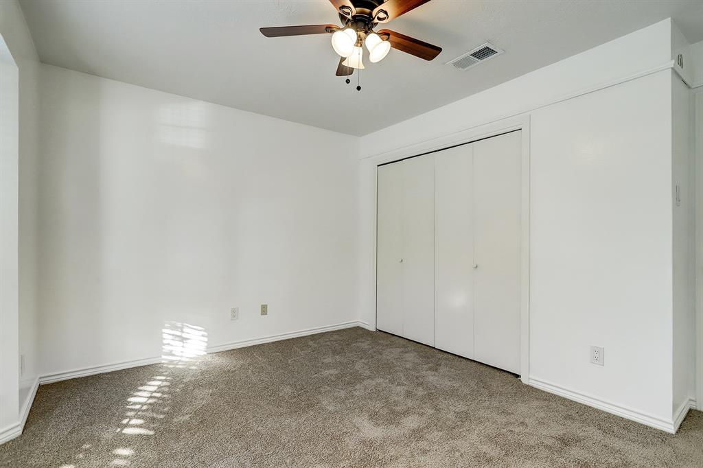 The same bedroom offers a slightly bigger closet, and is adjacent to the full bath on the second floor.