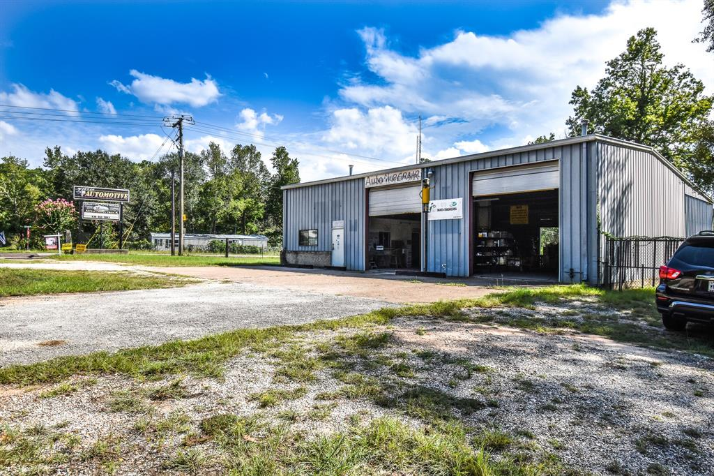 Great Opportunity to get your Business started or expand to a new location! Commercial property available in ColdSpring Texas! Property was previously used for mechanic shop. Multiple use is available. Almost 4000 sq feet of space in warehouse! Corner lot. Call your favorite Realtor today for your tour! Motivated seller willing to negotiate.
