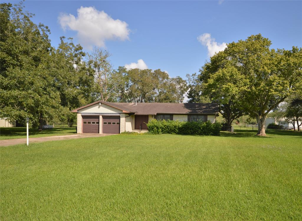 """Charming older home on the property has limited value and is being sold in """"AS-IS"""" Condition. Well and Septic on the property. Remodel the older home, build your dream home or put a mobile home on this beautiful 3.5 acres! Property has gorgeous huge pecan trees and lined on one side with Crape Myrtle trees! Horses Allowed! You can enjoy healthy fresh eggs from your own chickens! Conveniently located close to Pearland restaurants, grocery stores and shopping! Easy access to 288, Beltway-8, Hwy-6 or the Fort Bend Tollway. NO FLOODING! NO HOA"""
