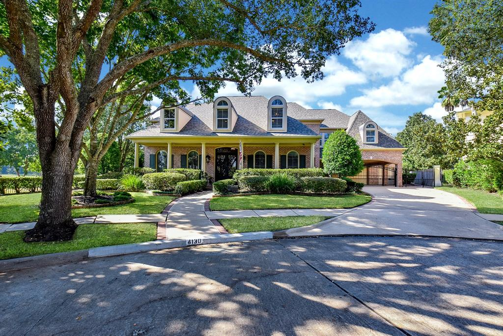 Absolutely stunning 'Steve Fuqua Homes' custom home, located on oversized, private cul-de-sac lot...overlooking the #6 Cypress fairway and green complex of the Sweetwater Country Club. The interior appointments of this home are countless and spectacular. Built to entertain, with five bedrooms, four full baths / two half baths, three game / media rooms, fitness room, two offices, heated pool and spa...the list goes on! Be sure to read the captions included with the photos for detailed descriptions of many features. * This is the ONLY SECTION in all of Sweetwater that is zoned to Colony Meadows Elementary / Fort Settlement Middle / Clements High Schools...all three EXEMPLARY schools in Fort Bend ISD. Welcome home!