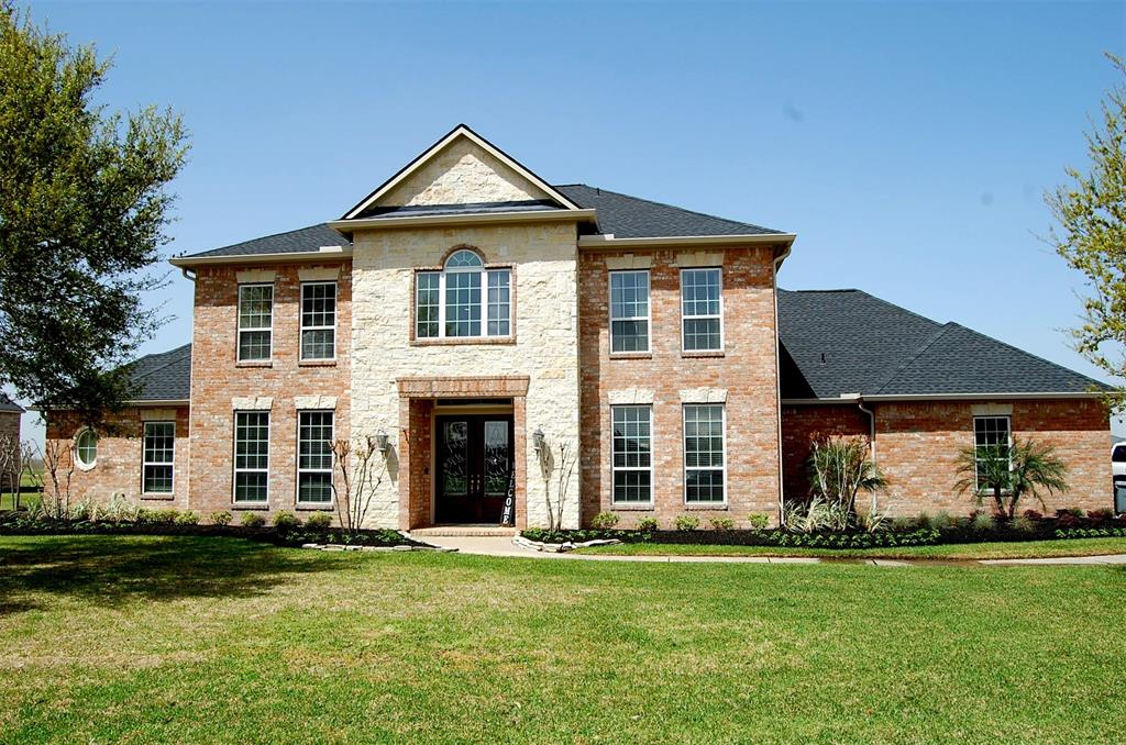 Looking for an exciting way of life & an exciting place to call home? Look no further! Endless possibilities abound! A unique opportunity to own an estate in the sought after Lakes of Katy waterski community! 1.6 plus acres to enjoy & tailor to your own fantasies. Out buildings, tennis court, ball diamond, soccer field etc. If you have a boat you will enjoy water skiing, wake boarding & tubing which is part of the homeowners lake rights. There is a private boat launch to the 3 lakes as well as a ski jump for the accomplished skiers! ATV trails & golf carts are permissible in this exclusive gated enclave! Features of this elegant 5 bedroom home include stunning 2 story foyer, formal dining & living room, butlers pantry, study off primary bedroom, his & hers water closet, den open to large island kitchen,2 staircases, custom tile work, high ceilings, outdoor kitchen, pool/spa, sprinkler system, a 3 car garage & a 24x14 covered patio. Low taxes & no MUD taxes. This home has never flooded.