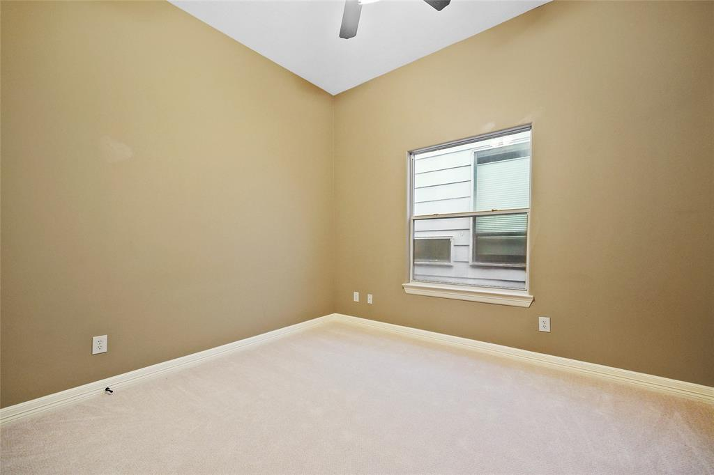 Bedroom # 3 features new carpet