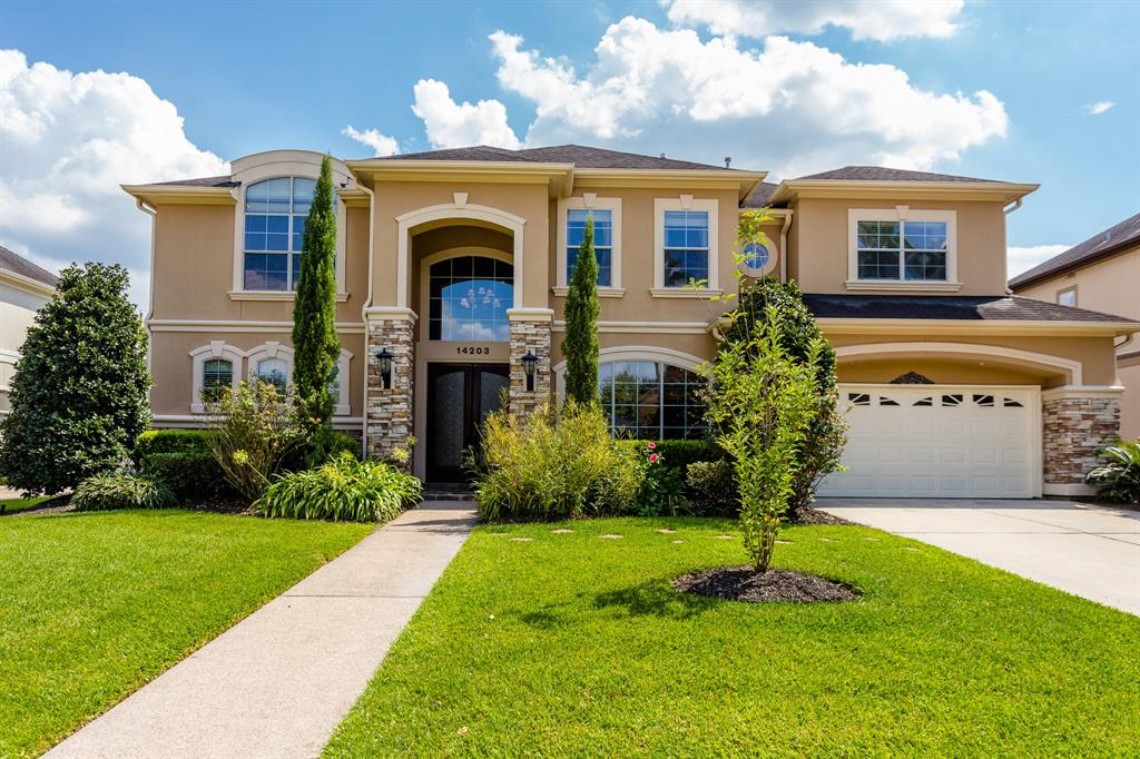 This elegant spacious house is the perfect place to call home in these times  - with 6 bedrooms, 3 large living areas, a formal study, and a fabulous bonus space off one of the upstairs bedrooms, every member of the household has space to work from home if necessary. When social distancing measures are relaxed, you will be able to fill this home with friends and family as it was built to accommodate large gatherings. The house is a wonderful blend of classic architectural features and relaxed, open entertaining spaces-  formal living and dining rooms, family den and breakfast area, and a huge media/game room upstairs. The bedrooms are all large, easily accommodating work spaces; one upstairs even has its own sitting area! Primary bedroom downstairs; sixth bedroom with disabled access and ensuite also downstairs; back yard is private and secluded with shady patio at the kitchen door. Room for a pool if desired. This beautiful home is ready for new owners - schedule an appointment today