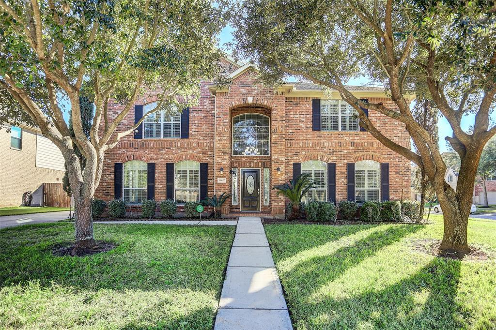 Welcome to 21827 Treemont Hollow Court!  This Spacious FRESHLY PAINTED home is located in the Riverpark West subdivision; tucked away on a Quiet Cul-De-Sac. Perfect for a Multigenerational family this house offers 6 bedrooms (2 BEDROOMS DOWN) and 3.5 bathrooms. Tile flooring throughout the first floor. The large kitchen offers Stainless Steel Appliances, a Large central island, Loads of storage, and Ample counter space. Right off the kitchen, you will find the breakfast area that has floor to ceiling windows. Open sightlines make this area of the home perfect for entertaining. Master Suite has Beautiful tray ceilings and crown molding. Large en-suite Master Bathroom features His and Her sinks, garden tub, UPGRADED walk-in glass shower, and large master closet. MASSIVE GAMEROOM and MEDIA ROOM located on 2nd floor!